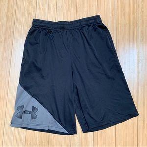 UA Under Armour boys shorts, YLG.